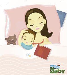 El primer pensamiento de una mami cuando despierta es darle a su bebé toda la felicidad del mundo