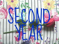 Second Year - Megan Time Blog