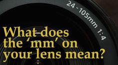 by David Peterson Most photographers have a pretty basic understanding of lenses. But if that mm number printed on your Types Of Photography, Portrait Photography, A Kind Of Magic, Prime Lens, Human Eye, Wide Angle Lens, Zoom Lens, Focal Length, Photography Equipment