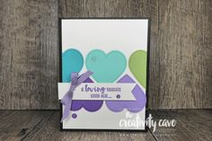 up 2020 in colors Poppy Cards, Valentine Love Cards, Youtube Live, Color Tag, Wink Of Stella, Stampin Up Catalog, Sympathy Cards, Greeting Cards, Heart Cards