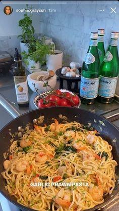 Cooking Recipes, Healthy Recipes, Pasta Recipes, Food Goals, Food Is Fuel, Aesthetic Food, Food Inspiration, Italian Recipes, Love Food