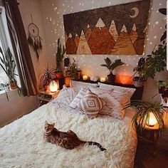 Bohemian Bedroom 680113981212532176 - 75 Modern Bohemian Bedroom Decor Ideas, Source by Bohemian Bedroom Decor, Cozy Bedroom, Decor Room, Home Decor, Autumn Decor Bedroom, Trendy Bedroom, Modern Bohemian Bedrooms, Modern Bedroom, Bohemian Room