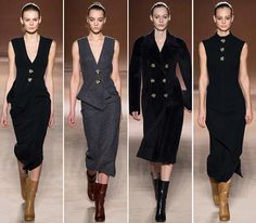 Victoria Beckham Fall/Winter 2015-2016 Collection - New York Fashion Week