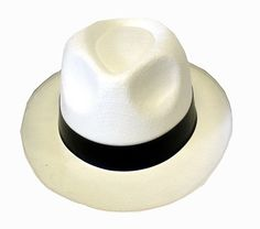 mens fancy dress costume accessory OLD ENGLAND SATIN LOOK WHITE BOWLER HAT