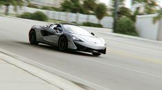 McLaren 570s... in Miami, rendered in KeyShot by Giacomo Geroldi. Hi-res here: https://www.artstation.com/artwork/Ll1zw