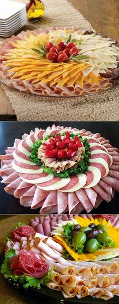 66 Trendy Ideas For Meat Appetizers Parties Appetizer Recipes Meat Appetizers, Appetizers For Party, Appetizer Recipes, Party Food Platters, Food Trays, Meat Trays, Meat Cheese Platters, Cheese Food, Meat Platter