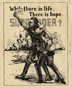 This surrender leaflet was created by the Japanese, and was meant to encourage Americans to surrender.