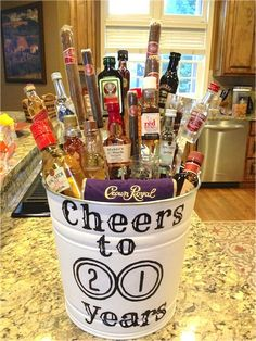 35 Easy DIY Gift Ideas People Actually Want -- A liquor bouquet! - 35 Easy DIY Gift Ideas People Actually Want — A liquor bouquet! The Effective Pictures We Offer Y - Easy Diy Gifts, Creative Gifts, Homemade Gifts, Cool Gifts, Creative Ideas, Liquor Bouquet, Mini Alcohol Bouquet, Mini Liquor Bottles, Small Bottles