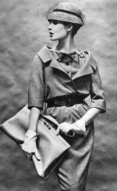 1959 Christian Dior, photo Helmut Newton