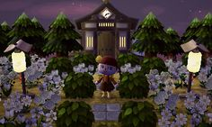 evenstarcrossing: changed up the exterior of my town hall a bit. ♥