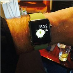 Sam's new iwatch...❤
