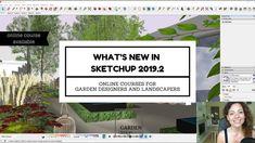 What's new in SketchUp update? Whats New, Dream Garden, Tool Design, Online Courses, Garden Design, Tools, Landscape, News, Instruments
