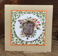 Klompen Stampers (Stampin' Up! Demonstrator Jackie Bolhuis): A little corny....but love ACORNY