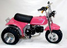 Custom pink honda atc 70
