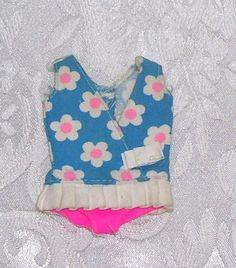 Vintage Barbie RARE European Skipper Swimsuit 8519 $1000 Value 1973 Must See | eBay