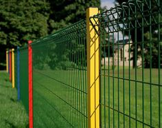 Welded Mesh Fencing is a combination of wires in the horizontal and vertical direction welded at their junctions to provide a rigid fence. A number of differing designs are manufactured from 3mm to 8mm wire at varying spacings for economy or strength.
