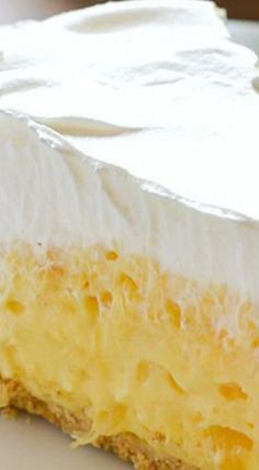 5 Minute Dessert: Pineapple Pie ~ Creamy, easy and delicious