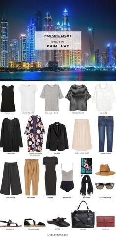 Packing List: What to Pack for Dubai in Spring 2017-livelovesara
