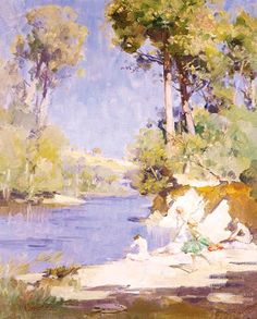 Australian Impressionist Painter Arthur Streeton (1867-1943) ~ Blog of an Art Admirer