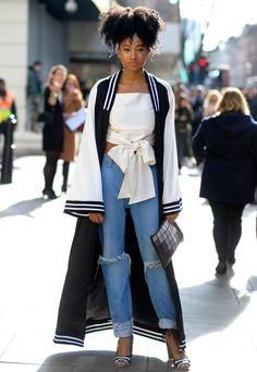 London Fashion Week Outerwear