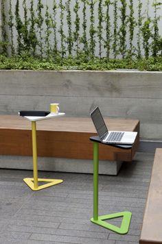 Laptop tables - Steel Furniture, Sofa Furniture, Furniture Design, Office Table Design, Workspace Design, Design Sites, Modern Home Office Furniture, Laptop Table, Amazing Decor