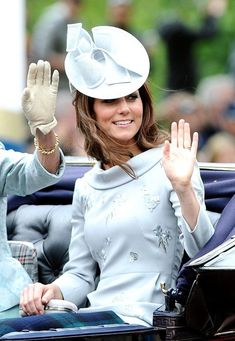 Kate Middleton Photos - The British Royals celebrate the 86th birthday Queen Elizabeth II with the annual Trooping of the Colour military parade. - The Trooping The Colour 2012