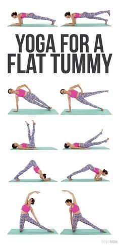 This yoga sequence will help tighten your tummy- no crunches required! Fitness Workouts, Yoga Workouts, Fitness Weightloss, Fitness Pilates, Yoga Exercises, Workout Diet, Fitness Abs, Abdominal Exercises, Post Workout