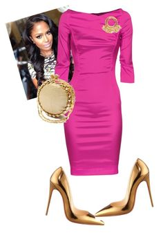 """Night Two!!!"" by cogic-fashion ❤ liked on Polyvore featuring Christian Louboutin, THOMAS RATH and Chanel"