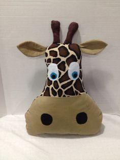 Adorable Giraffe Pillow Plush toy on Etsy, $20.00