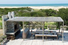 quincho - Beach life, Uruguay.