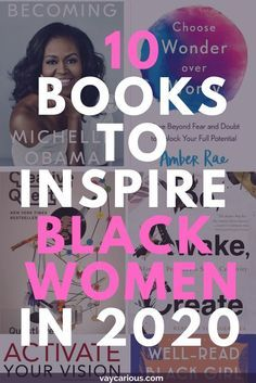 Books To Read In Your 20s, Books To Read For Women, Best Books To Read, Good Books, Books For Black Girls, Black Books, Best Motivational Books, Inspirational Books, Up Book