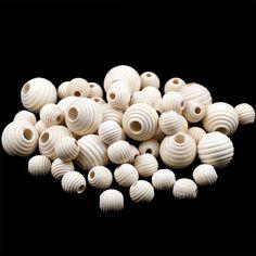 Tanie: Koraliki, kup bezpośrednio od dostawców z Chin: YHBZRET 30 sztuk drewniane okrągłe luźne koraliki przekładki przyjazne dla środowiska naturalnego-kolor drewna koraliki do wyrób biżuterii bransoletka DIY akcesoria Ciesz się ✓ bezpłatną wysyłką na cały świat! ✓ Limit czasu sprzedaży ✓ Łatwy zwrot Mini Cupcakes, Stuffed Mushrooms, Diy, Round Beads, Wooden Beads, Make Jewelry, Jewelry Making, Beading, Colors