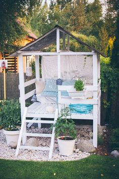 Backyard Playhouse #backyardplayhouse