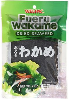 WelPac  Fueru Wakame Dried Seaweed Net Wt 2 Oz Pack of 4 *** You can get more details by clicking on the image.Note:It is affiliate link to Amazon. #2017