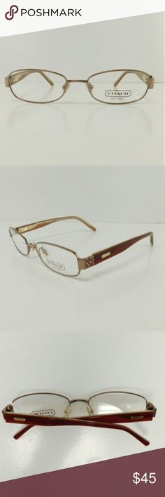 🆕COACH Metal Frame Eyeglasses BRAND NEW  Authentic COACH Vision Eyewear  Model:Harmony 1025  Color: Taupe  Size: 51mm-18mm-140mm   Gender : Women.  No Case Coach Other