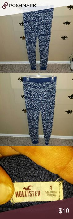 Hollister pants Hollister pants. They are in very good condition. Size small Hollister Pants