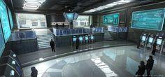 ArtStation - Star Cititzen control center, Eddie Del Rio