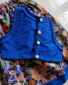 Kids Frocks, Frocks For Girls, Dresses Kids Girl, Kids Outfits, Kids Blouse Designs, Saree Blouse Designs, Crop Tops For Kids, Girls Frock Design, Kids Dress Wear