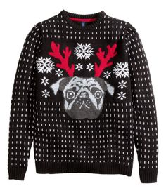 Fashion and quality clothing at the best price H&m Christmas, Christmas Jumpers, Christmas Sweaters, Holiday, Trill Fashion, Fashion Outfits, Ugly Xmas Sweater, Graphic Sweatshirt, T Shirt