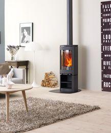 Jotul F 361 wood burning stove – Freestanding fireplace wood burning Wood Burning Logs, New Stove, Seasoned Wood, Freestanding Fireplace, Into The Woods, Hygge Home, Log Burner, Uk Homes, Home And Deco