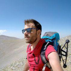 Hiking in #Greece! #happytraveller #newseason #tvshow #travel #hiking#climbing #olympos #drone #fromwhereidrone #edwardjeans  #jumpoutgr #violanta #airtickets #traveller #explorer #visitgreece