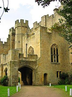 Witton Castle in County Durham, England