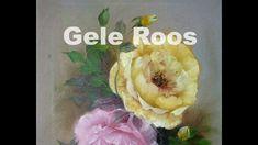Hoe schilder je een gele Roos, in de Gary Jenkins stijl. Gary Jenkins, Painting Videos, Painting Tutorials, Abstract Flowers, Artist, Youtube, High Tea, Pilates, Film