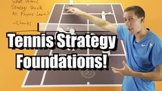 Tennis Singles and Doubles Strategy Lesson