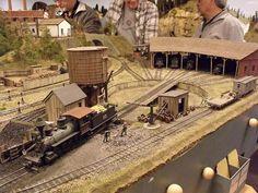 model railroad scenery   Bay Railway & Navigation Co. - PNR Cascadian 2010   Model Railroad ...