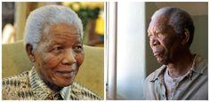 Нельсон Мандела и Морган Фримен, «Непокоренный».