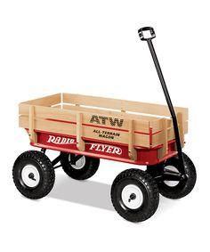 All-Terrain Radio Flyer Wagon