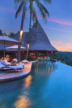 Infinity Pool at Viceroy Bali