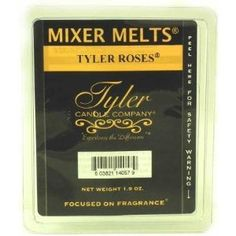 Tyler Scented Wax Mixer Melts Tyler Roses -- To view further for this item, visit the image link.