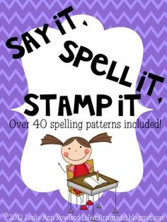 This unit includes 43 spelling patterns for literacy centers. Download the preview to see the center sheets. Patterns included are:all short vowe...